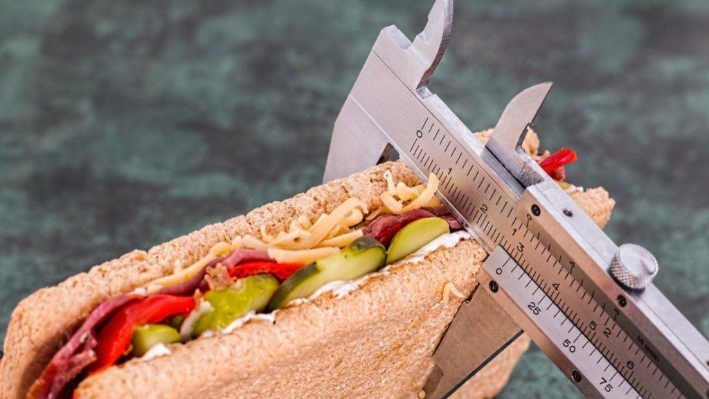 contar calorías